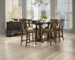 A Dining Room With Carlisle Hickorys Wide Plank Flooring