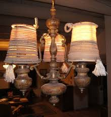 Rustic Style Lamp Shade Western Rope