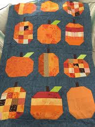 Pumpkin Patch Bakersfield by Just Because Quilts Pumpkins