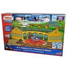 trackmaster r c thomas at tidmouth sheds totally thomas inc