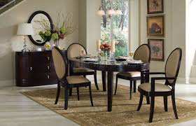100 Cherry Table And 4 Chairs Dark Classic Dining WOptional