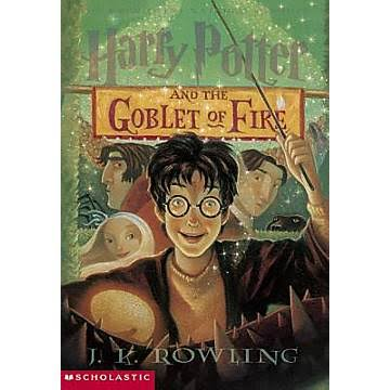 Harry Potter & the Goblet of Fire - J. K. Rowling