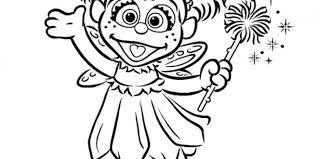 Sesame Street Coloring Pages 14