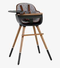 High Chair Wood Legs, HD Png Download - Kindpng