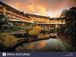 le meridien hotel punaauia tahiti polynesia stock photo