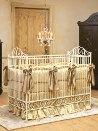 Bratt Decor Crib Skirt by Casablanca Crib By Bratt Decor Venetian Gold Gilt