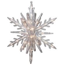 Home Depot Ge Pre Lit Christmas Trees by Ge 10 75 In 108 Light 3d Hanging Star With Clear Random Sparkle