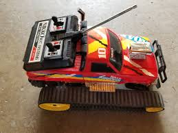 NIKKO SHREDDER TRACK RC Truck Vintage With Remote Control - $75.00 ... Hot Wltoys 10428 Rc Car 24g 110 Scale Double Speed Remote Radio 2012 Short Course Nationals Truck Stop Flyer Design Tracks Of Las Vegas Dash For Cash Event Tracy Baseltek Nx2 2wd Track Rtr Brushless Motor Oso Ave Home Facebook Iron Hummer Truck 118 4wd Electric Monster New Autorc Sc A10 Evo Frame 50 Kit Off Road Rc Adventures Hd Overkill 6wd 5 Motors Escs Pure Cars Faq Though Aimed Powered Theres Info Trail Buster Rock Crawling Competion Fpvracerlt Racing Fergus Falls Flyers Look To Spark Interest With