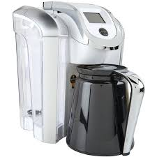 Keurig Coffee Machine White Brewer A Liked On Featuring Home Kitchen Dining Small Appliances Single