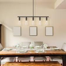 Chromeo 5 Light Kitchen Island Pendant