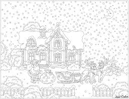 Coloriage Pere Noel Traineau Coloriages Unique Coloriage Du Pere