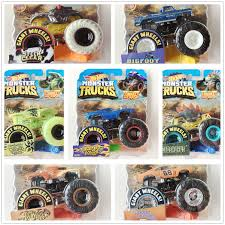 100 Hot Wheels Monster Truck Toys US 1499 40 OFFOriginal 164 S Metal Car Toy Wheels Giant Big Foot Collection Wild Collision Car FYJ44in