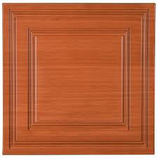 Wayne Tile Rockaway Nj by Stratford Vinyl Ceiling Tile Caramel Wood By Ceilume