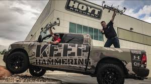 CAMERON HANES KEEP HAMMERING TRUCK WINNER ANNOUNCED - YouTube