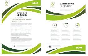 Tri Fold Flyer Template Word Folding Professional Business Three Corporate Brochure