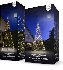 Flagpole Led Christmas Tree New Box 2018
