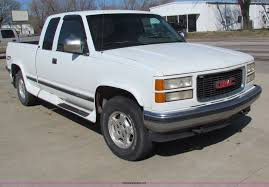 1994 GMC Sierra K2500 Extended Cab Pickup Truck | Item B7194... Gmc Sierra 1500 Questions How Many 94 Gt Extended Cab Used 1994 Pickup Parts Cars Trucks Pick N Save Chevrolet Ck Wikipedia For Sale Classiccarscom Cc901633 Sonoma Found Fuchsia 1gtek14k3rz507355 Green Sierra K15 On In Al 3500 Hd Truck Sle 4x4 Extended 108889 Youtube Kendale Truck 43l V6 With Custom Exhaust Startup Sound Ive Got A Gmc 350 It Runs 1600px Image 2