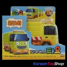 100 Garbage Truck For Kids The Little Bus TAYO Diecast Plastic Mini Car Toy Ruby Model