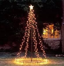 light tree tower decorations lighted