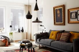 living room impressive living room pendant lighting with regard to