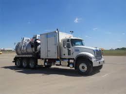 100 Used Vacuum Trucks Mack GRANITE GU714 And Trailers