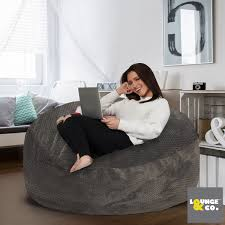 Lounge & Co Jumbo Foam Bean Bag   Costco UK Personal And Home Welcome To Beanbagmart Supplied With Beans Mocha Chunky Jumbo Cord Bean Bag Armhair Gold Medal Leatherlike Vinyl Round Bag Chair Rentals Famifriendly Hotels In Bali That The Kids Will Love Aviator Replica Armchair Old Brown Pu Leather Alinium Silver Multiple Colors Walmartcom Giant Snorlax Boo Unboxing Pokemon Super Mario Mega Mammoth Sofa Black Sofa Amazoncom Ddl Classic Luxury