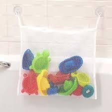 baby bad spielzeug tidy lagerung saugnapf tasche mesh