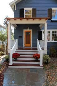 Surprising Front Porch Stoop s s Plan 3D house goles