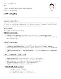 Formatted Resume Sample Format For Example Of Teachers Basic Simple