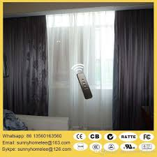 Motorized Curtain Track India by 2018 Double Track Motorized Curtain Blinds 90 And 135 Degree