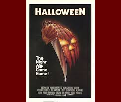 The Jack O Lantern To Knife Effect Is Wicked Cool In This Poster That Spawned A Decades Long Horror Icon