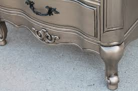 Silver Furniture My most talked about finish