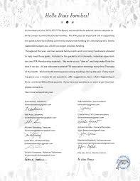 wel e letter Dixie Canyon munity Charter PTA