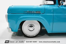 1960 Ford F100 | Classic Car Studio 2001 Ford F 150 Fuel Trophy Keys Leveling Kit 1960 Chevy Pickup Truck Hot Rod Network Video Talking Trucks With Fords Boss 60 F100 Frame Swap Project Recap The Interc Youtube For Sale Classiccarscom Cc996352 Mini Metals Stakebed Motor Sports Ho Scale Classic Car Studio 60s Tuff Pinterest 1954 60year Itch Truckin Magazine Hennessey Velociraptor 600 And 800 Based On F150 Svt Raptor 62 1958 Ford F100 All On The Road 1957