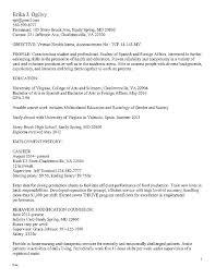 Federal Government Job Resume Samples Employment Sample