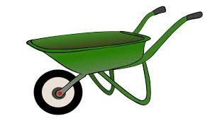 Wheelbarrow Cart Work Garden Transport Trolley