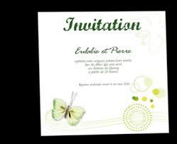 carte d invitation mariage personnalisable pot fleurs chêtre
