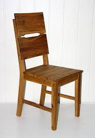 massivholz stuhl geölt holzstuhl mit holzsitz wildeiche massiv