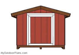 8x12 short shed plans myoutdoorplans free woodworking plans