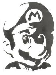 Mario Pumpkin Carving Templates Free by Mario Stencil 1600x1676 Wallpaper Crafts Flock Pinterest