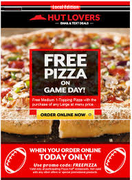 Melissa's Coupon Bargains: Pizza Hut-- FREE Pizza! Today ONLY! March Madness 2019 Pizza Deals Dominos Hut Coupons Why Should I Think Of Ordering Food Online By Coupon Dip Melissas Bargains Free Today Only Hut Coupon Online Codes Papa Johns Cheese Sticks Factoria Pin Kenwitch 04 On Life Hacks Christmas Code Ideas Ebay 10 Off Australia 50 Percent 5 20 At Via Promo How To Get Pizza