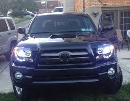 spyder halo headlights with hid 8000 tacoma world