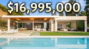 104 Beverly Hills Modern Homes Inside A 16 995 000 Mansion With Incredible Views Youtube