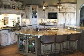 Adorable Rustic White Cabinets With Simple Kitchen Ideas E And Design