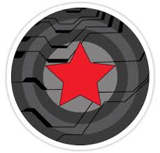 Winter Soldier Shield Stickers By CheekySherwin