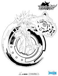 Coloriage Beyblade Burst A Imprimer Study42org