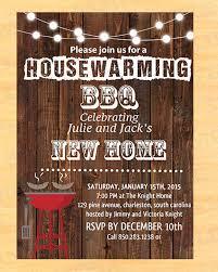 Housewarming Bbq Invite Invitation Templates Invitations Party