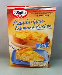 dr oetker mandarinen schmand kuchen 460 g 100g 1 24