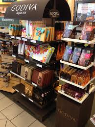 What s Barnes & Noble doing selling Godiva chocolates at checkout