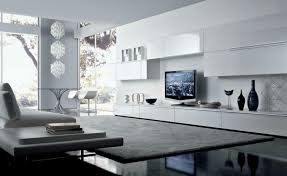 Catchy White Wall Units For Living Room Tv Wall Unit Design In The